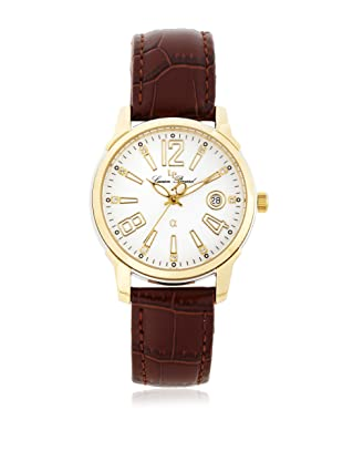 Lucien Piccard Men's A2201YL Brown Leather Watch