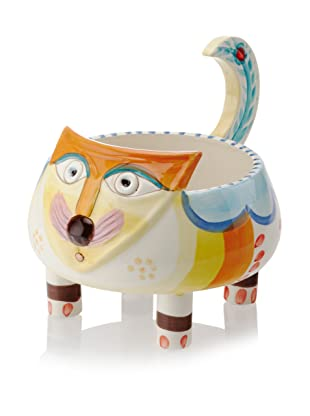 Abigails Colorful Cat Cachepot Planter