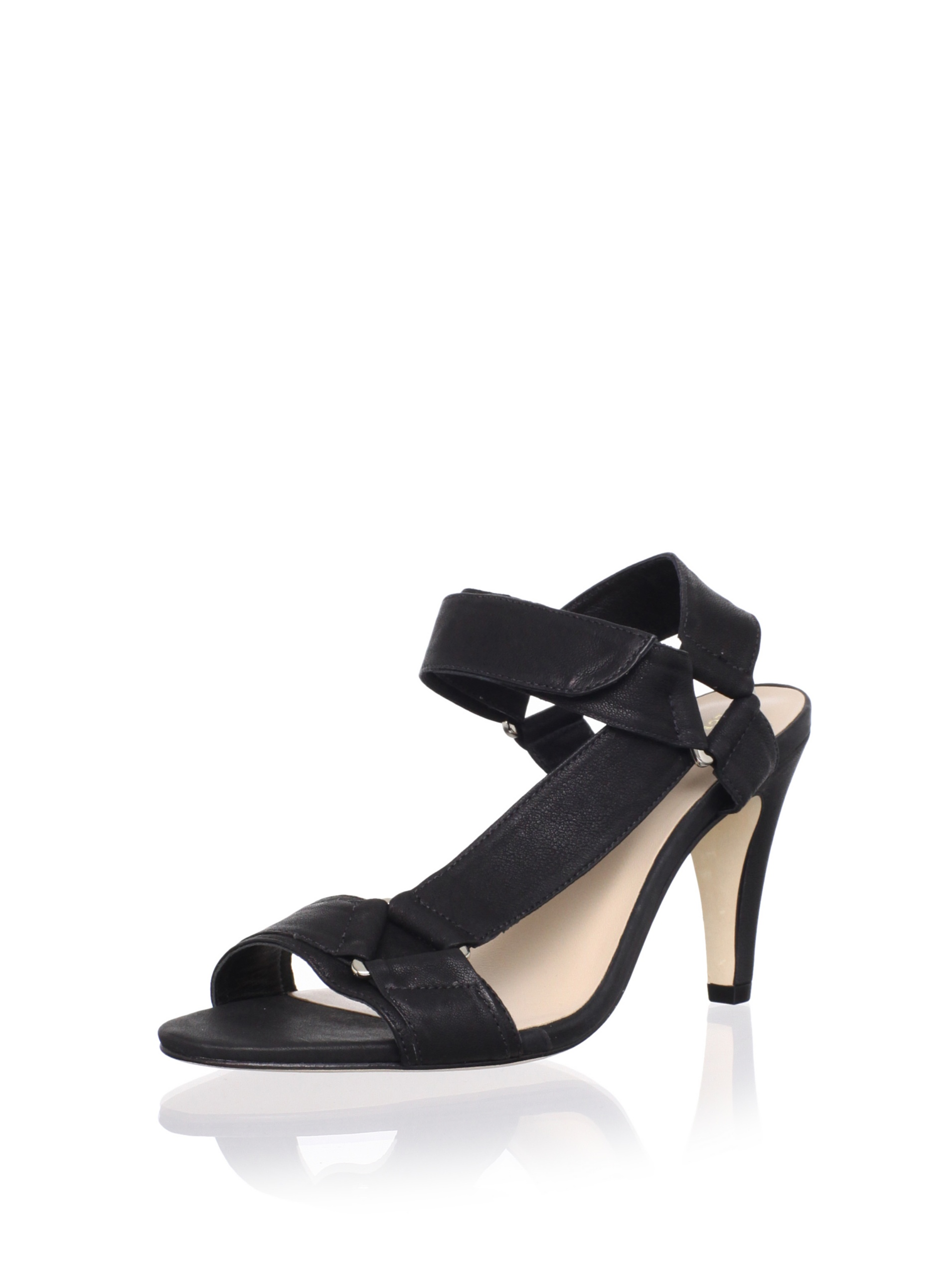 Loeffler Randall Women's Reba Sandal (Black)