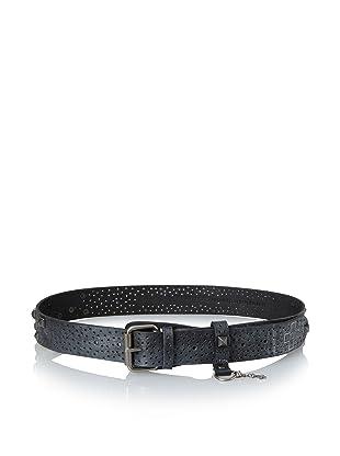 +Beryll Men's Artisan Belt (Black/Silver)