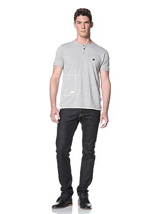 Marshall Artist Men's Naval Gym T-Shirt (Grey Marl)