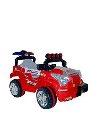 Lil' Rider Battery-Powered Land King Jeep, Red