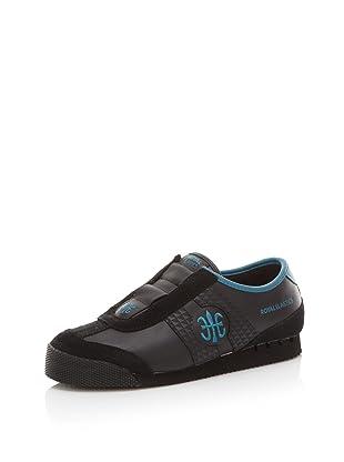Royal Elastics Women's Majesty Sneaker (Black/Ocean Depths)