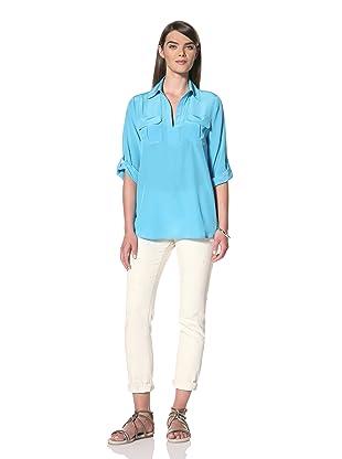 Acrobat Women's Cargo Pocket Shirt (Turquoise)