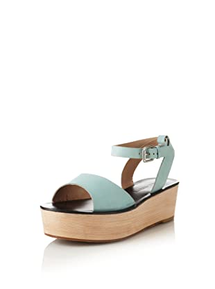 Pour La Victoire Women's Ciara Platform Sandal (Seafoam)
