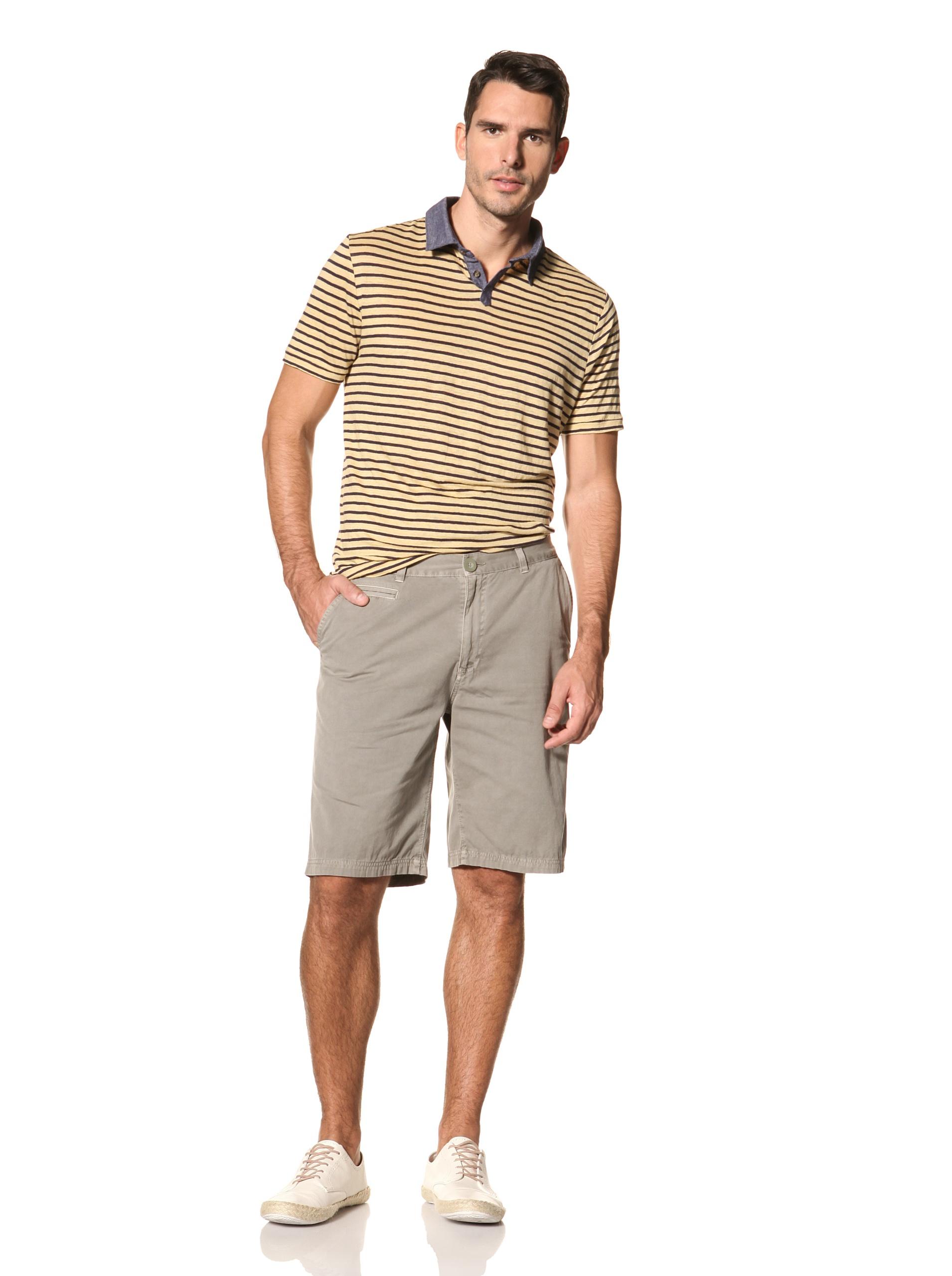 nüco Men's Canvas Club Shorts (Olive)