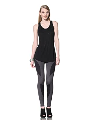 David Lerner Women's Burnout Racer Tank (Black)