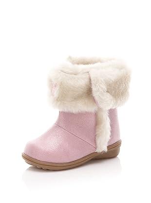 Carter's Kid's Glitter Bootie (Toddler/Little Kid) (Pink)