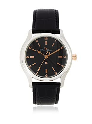 Lucien Piccard Men's A2204BK Black Leather Watch