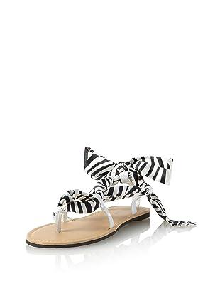 China Doll Girl's Aphrodite Sandal (Toddler/Little Kid/Big Kid) (Zebra)