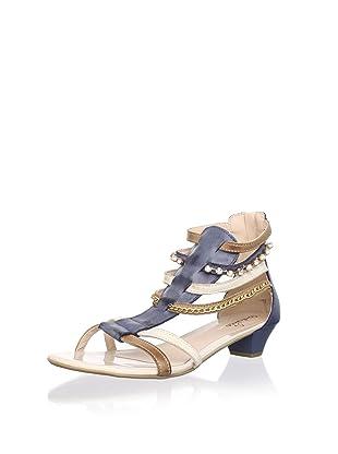 Contramao Kid's Gladiator Sandal (Navy)