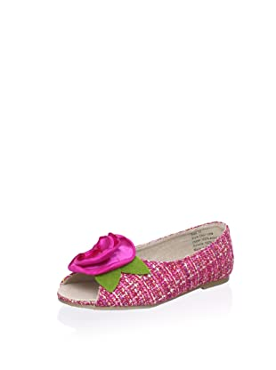 Joyfolie Kid's Charlotte Tweed Flat (Pink)