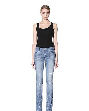 Habitual Denim Women's Alie Shoecut Jeans (Jupiter)