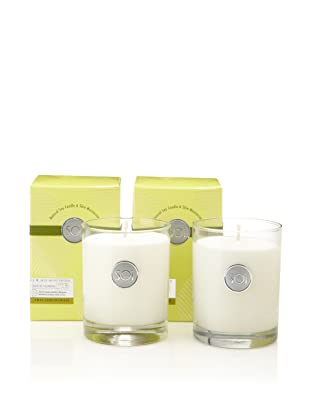 The SOi Company Set of 2 Thai Lemongrass 13.5-Oz. Luxe Boxed Highball Candles