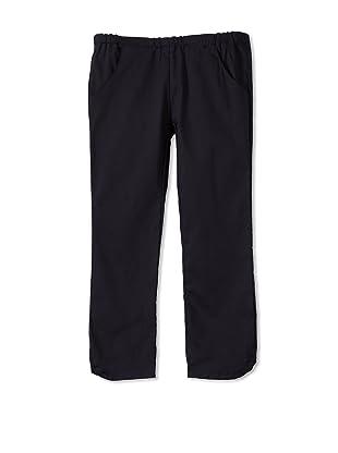 Upper School Girl's Skinny Capri Pants (Navy)