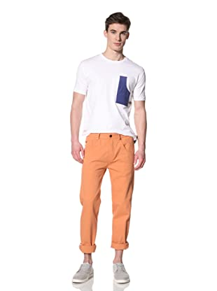 Marshall Artist Men's Stovepipe Jean (Burnt orange)