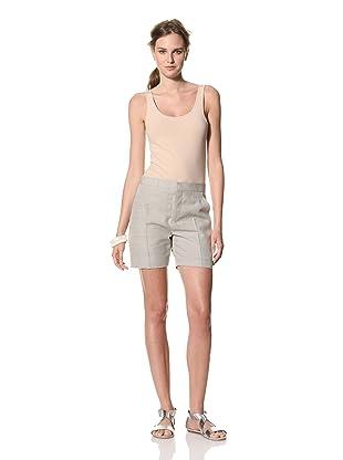 MARNI Women's Flat Front Shorts (Grey)