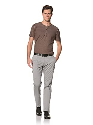John Varvatos Collection Men's Slim Pants with Side Patch and Front Coin Pocket (Griffin)