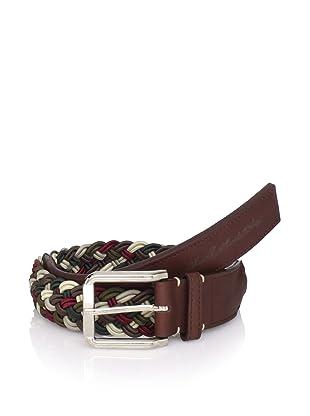 Marshall Artist Men's Hand Woven Belt (dark walnut)