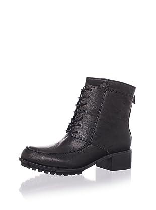 Elizabeth & James Women's Wilda Ankle Boot (Black Leather)