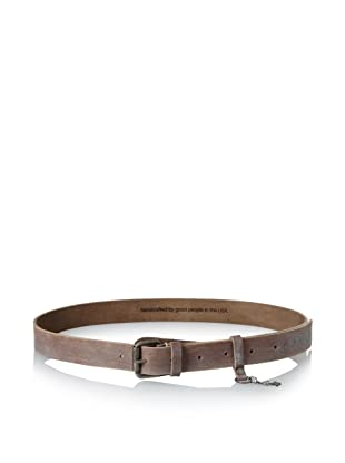 +Beryll Men's B-LY Belt (Bone/Silver)
