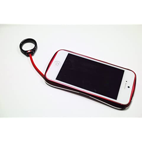 【iPhone5用アルミバンパーの最高峰】Deff CLEAVE ALUMINIUM BUMPER for iPhone5 DCB-IP50A6RDL フレアーレッド