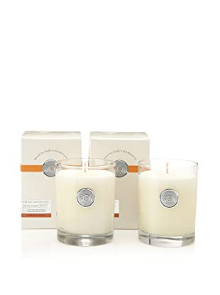 The SOi Company Set of 2 Pumpkin Spice 13.5-Oz. Luxe Boxed Highball Candles