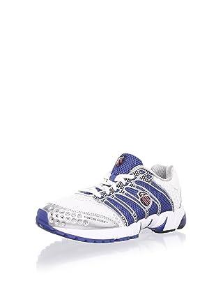 K-Swiss Women's K-Ona C Running Shoe (White/Blue/Red)
