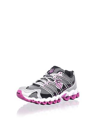 K-Swiss Women's Ultra Tubes 100 Running Shoe (Black/Silver)