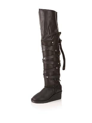 Koolaburra Women's Victoria Boot (Black Nappa)