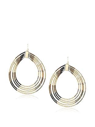 nOir Natural Multicolor Loopy Earrings