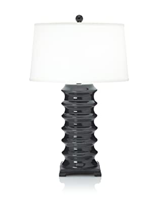 Peter Table Lamp (Trans Charcoal)