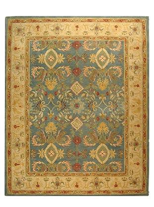 Safavieh Anatolia Collection Hand Tufted Rug (Light Blue/Ivory)