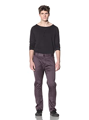 ZAK Men's Straight Fit Stretch Pant (Grey)