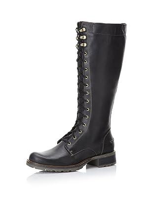 Sebago Women's Saranac Lace-Up Boot (Black)