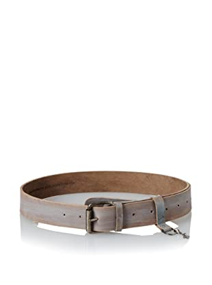 +Beryll Men's Vintage Wide Belt (Bone/Red/Blue)