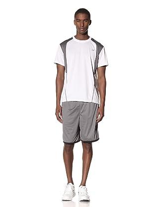 New Balance Men's Pindot Mesh Short (Black/Asphalt)