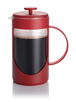 BonJour 8-Cup Ami-Matin French Press (Rouge Red)