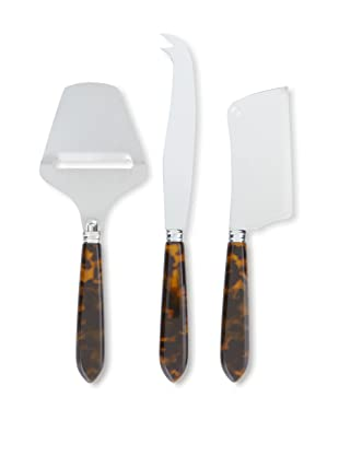 Sabre Natura 3-Piece Cheese Set, Tortoise