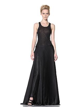 Haider Ackermann Women's Pleated Wrap Skirt (Black)