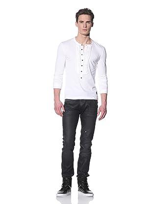 Just Cavalli Men's Serafino Shirt (White)