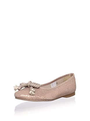 W.A.G. Kid's Flat with Braided Bow (Beige)