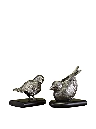 John-Richard Collection Set of 2 Bird Bookends