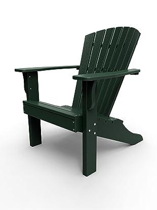 Malibu Outdoor Furniture Hyannis Adirondack Chair (Turf Green)
