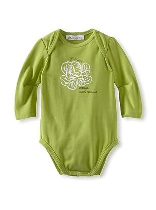 Charabia Girl's Kit Bodysuit (Green)