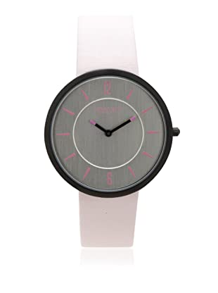 Johan Eric Women's JE5001-13-001.8 Vejle Slim Black IP Pink Leather Watch