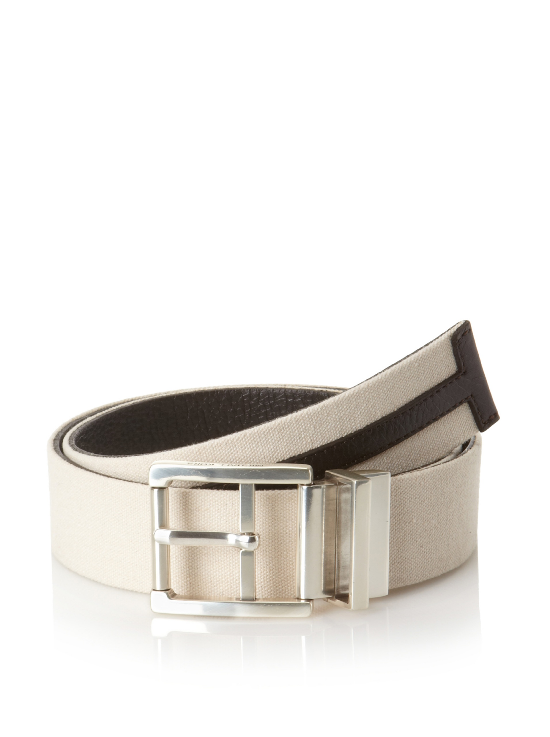 Michael Kors Men's Reversible Belt (Brown)