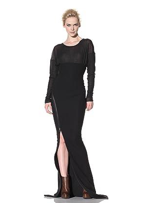 Haider Ackermann Women's Long Zip Skirt (Black)