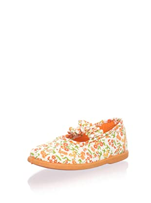 Cienta Kids Ruffle Mary Jane (Orange)