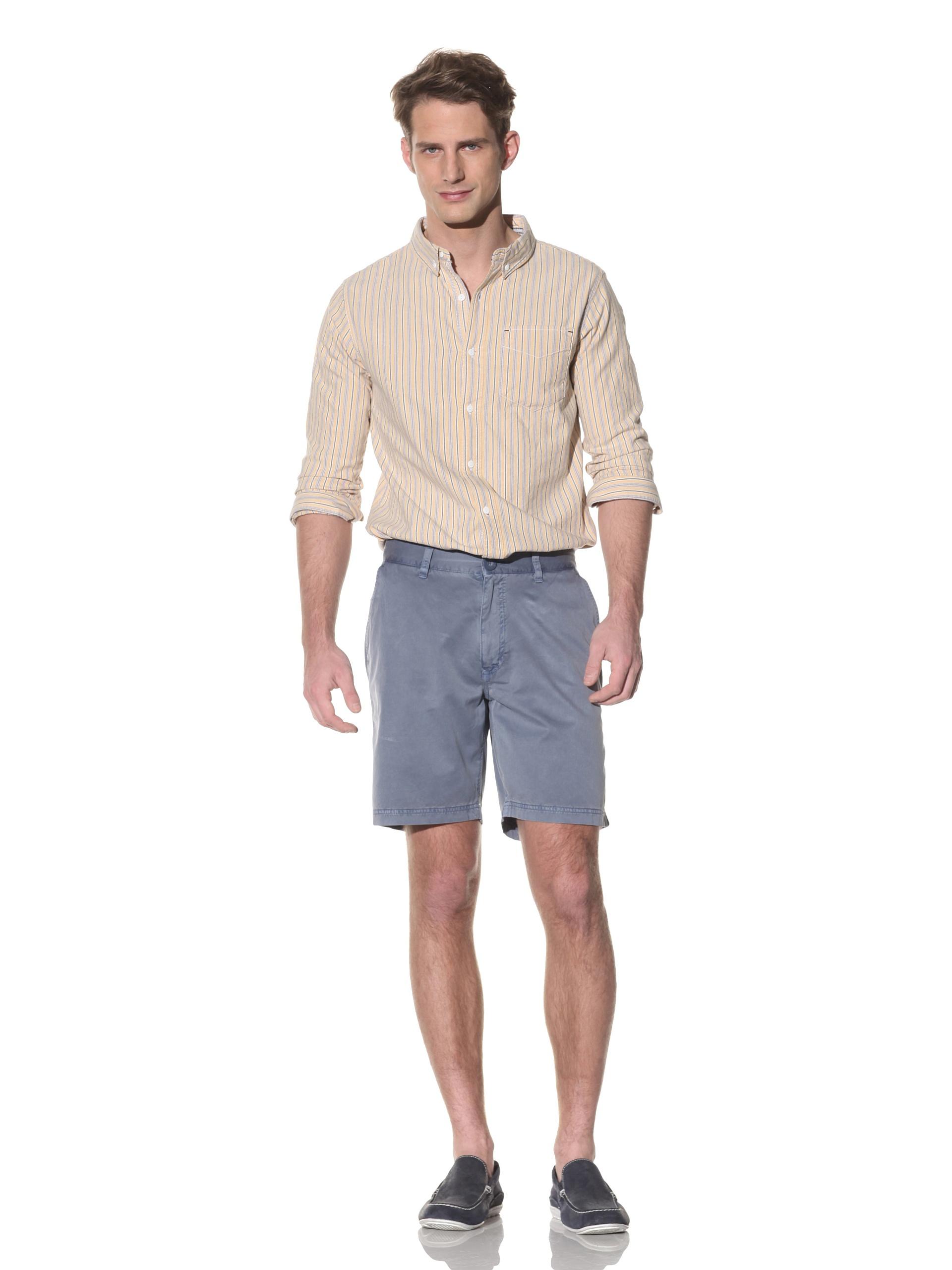 nüco Men's Twill Shorts (Navy)